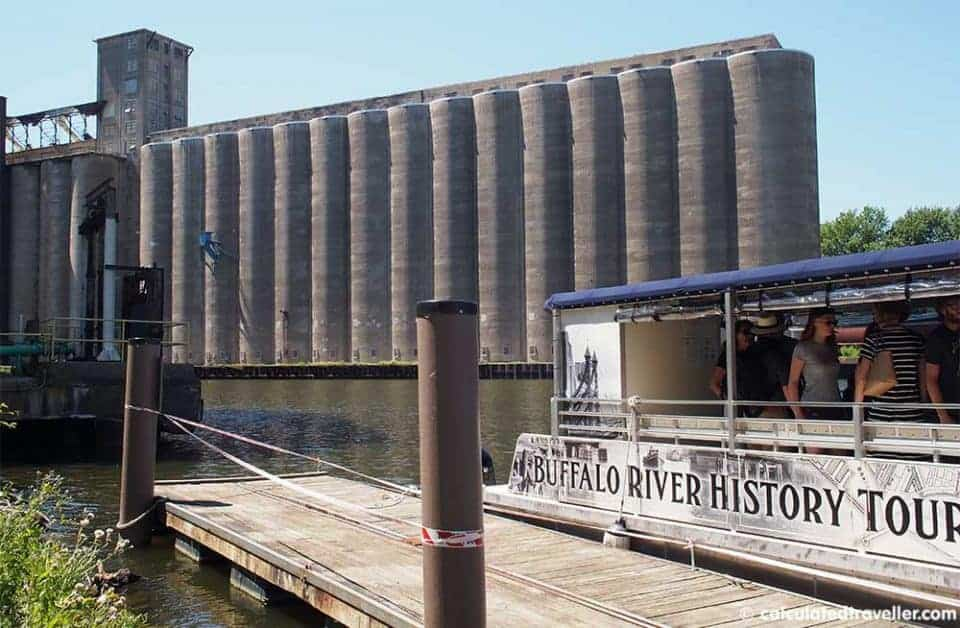 Buffalo NY Boys Trip Adventure Plan - Buffalo River History Silo Tour