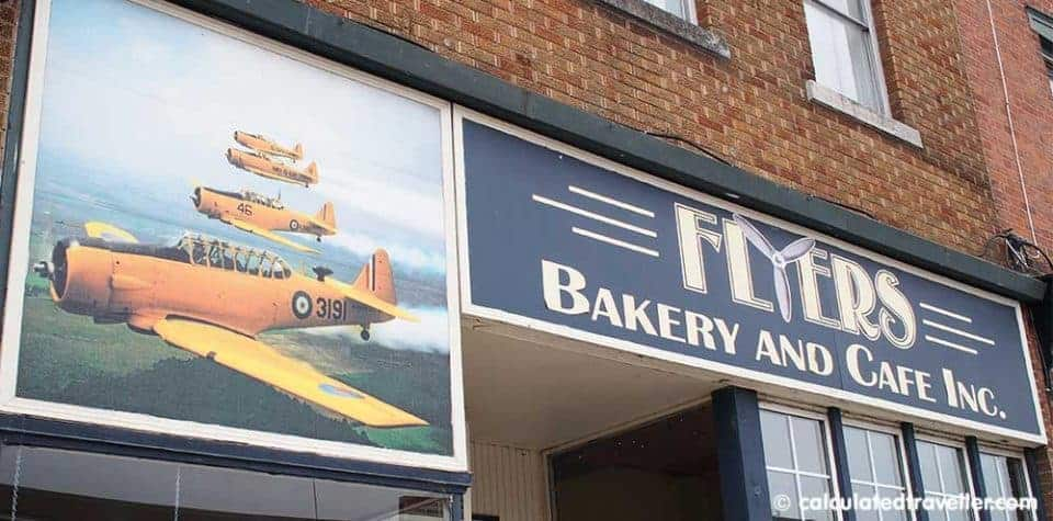 Discovering Flyers and History in Dunnville Ontario - Flyers Bakery and Cafe