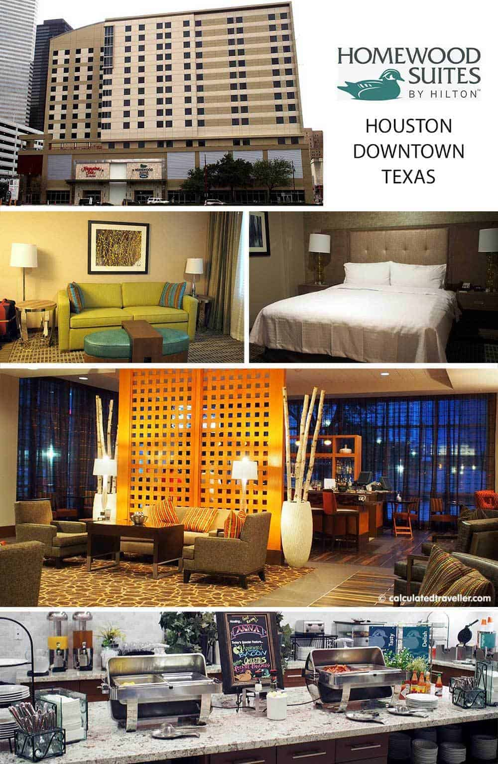 Homewood Suites by Hilton Houston Downtown Texas a review by Calculated Traveller