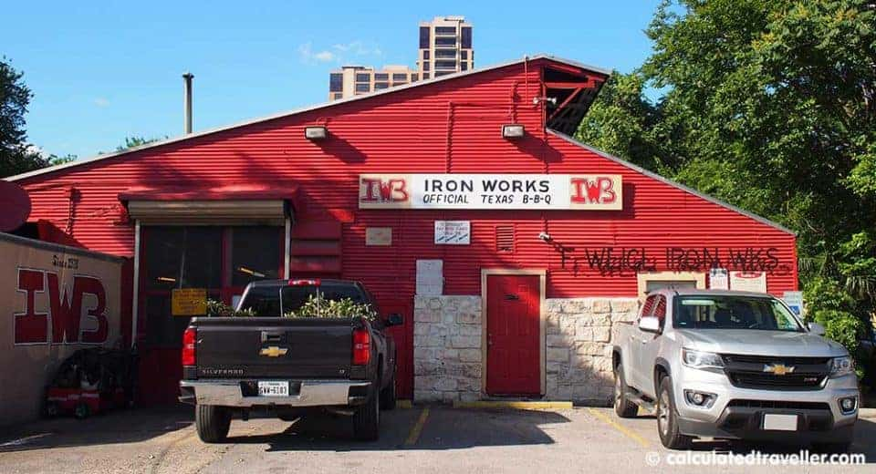 Sweet, Sweet, Smoky, Goodness at Iron Works BBQ Austin Texas