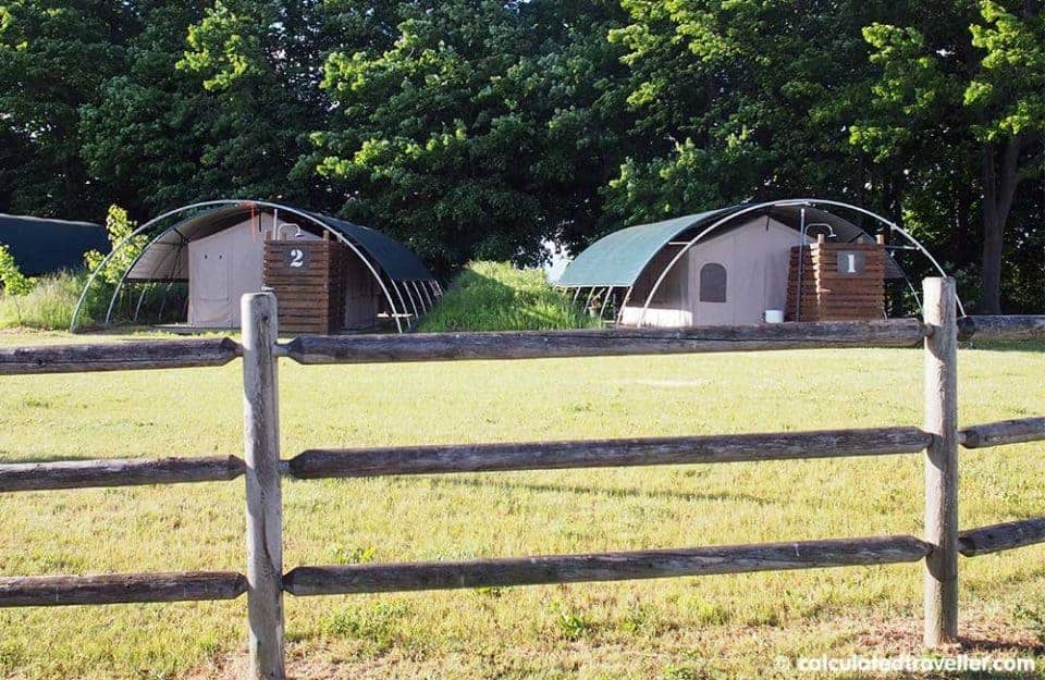 Glamping it UP at Long Point Eco-Adventures Ontario