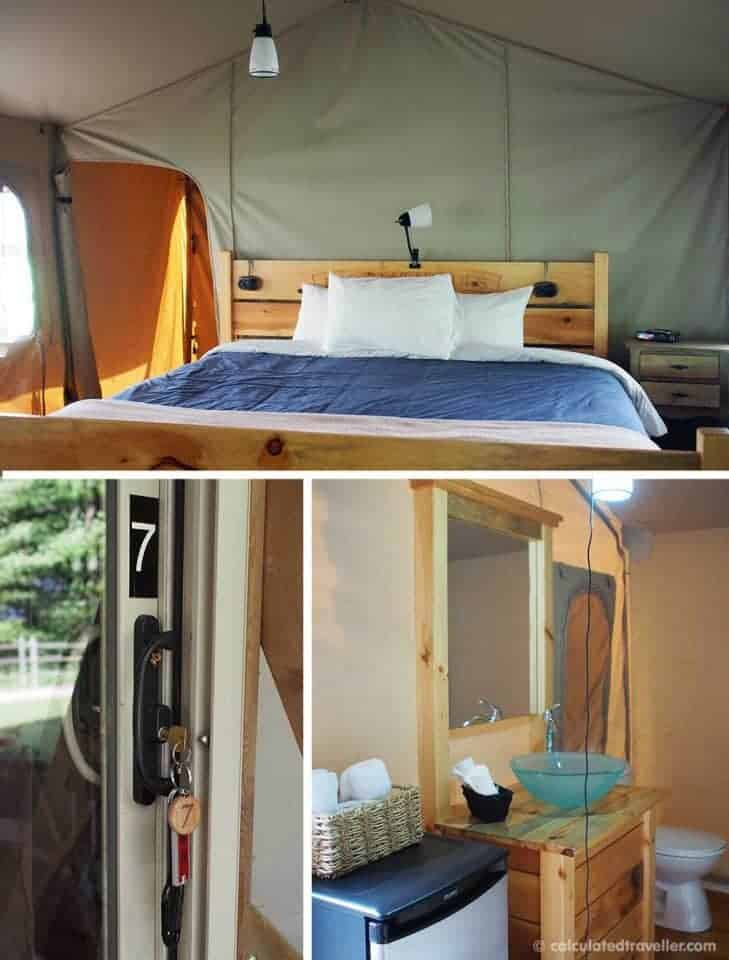 Glamping it UP at Long Point Eco-Adventures Ontario - Interior