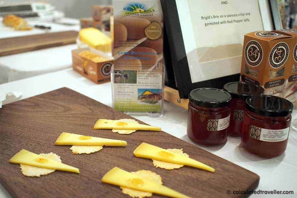 Local Fare Delights at Ontario's Southwest City Fare 2016 - Gunn's Hill Cheese