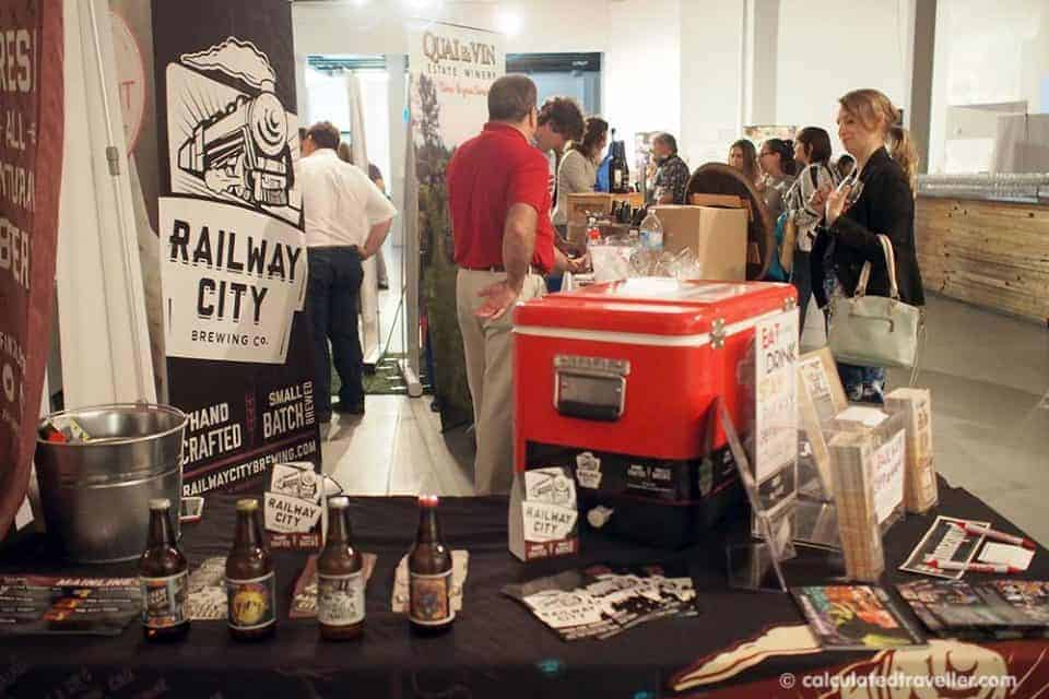 Local Fare Delights at Ontario's Southwest City Fare 2016 - Railway City Brewing