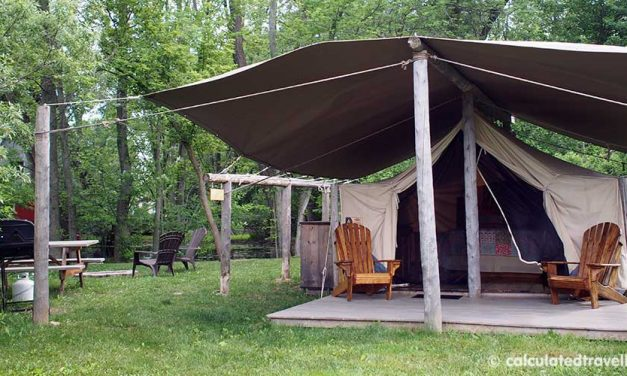 Luxury Camping Moments at Oakwood Escape, Dunnville Ontario