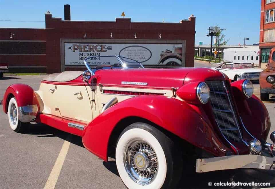 Buffalo NY Boys Trip Adventure Plan - Pierce Arrow Transportation Museum