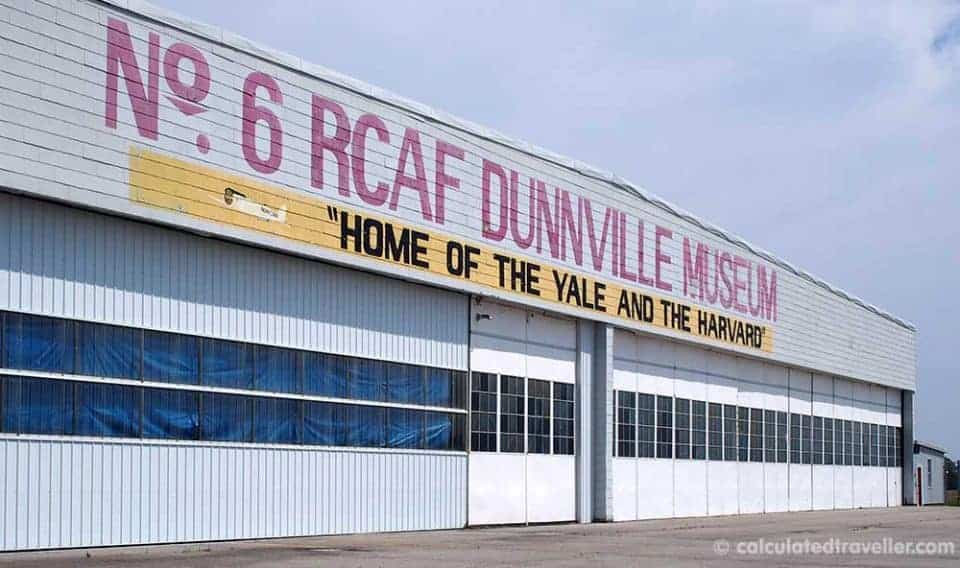 Discovering Flyers and History in Dunnville Ontario - No 6. RCAF  Dunnville Museum