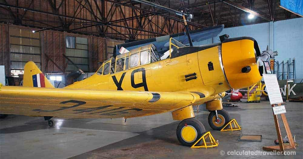 Discovering Flyers and History in Dunnville Ontario - No 6. RCAF Dunnville Museum - Yale