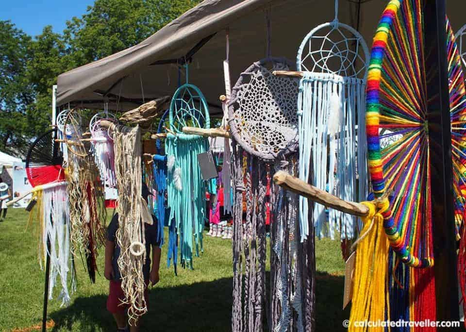The Chippewas of Rama First Nation Pow Wow, Orillia, Ontario - Dream Catchers