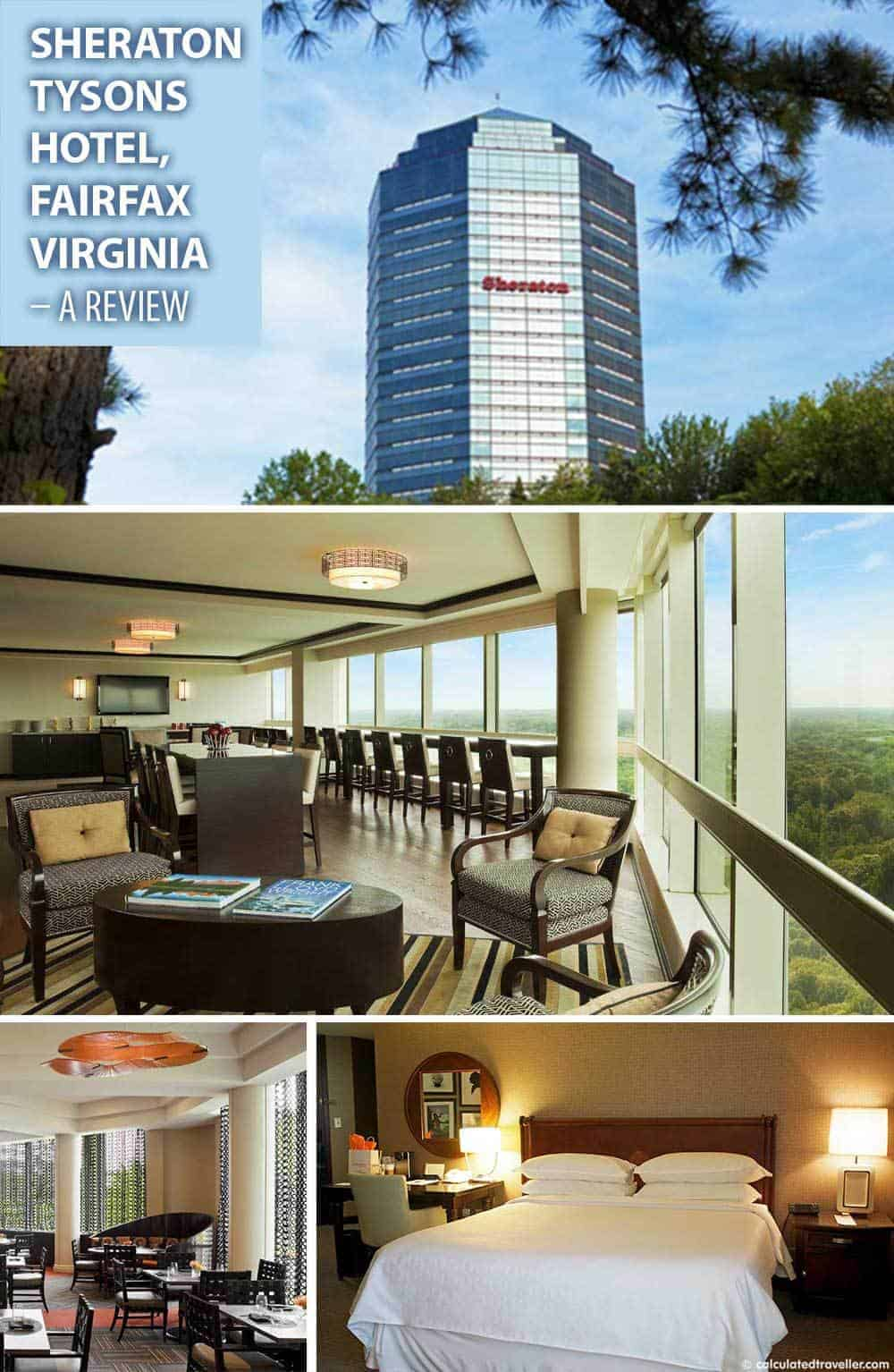Sleepy Nights at Sheraton Tysons Hotel in Fairfax Virginia - A review by Calculated Traveller