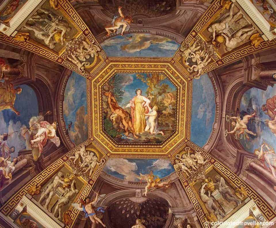 My (Almost) Private Tour of the Vatican with Walks of Italy - Vatican Ceiling