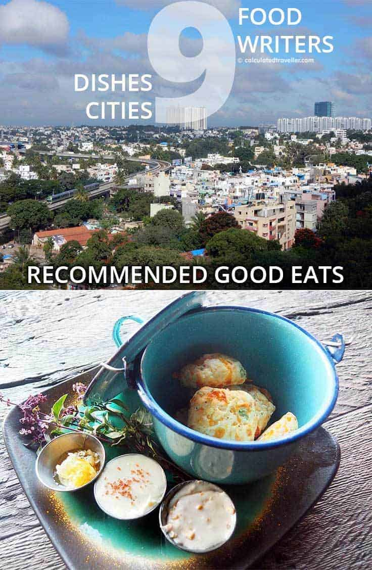Nine Dishes in Nine Cities as Recommended by Nine Food Writers by Calculated Traveller - because food writers know where to find good eats!