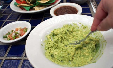 Getting my Guacamole on in San Antonio Texas