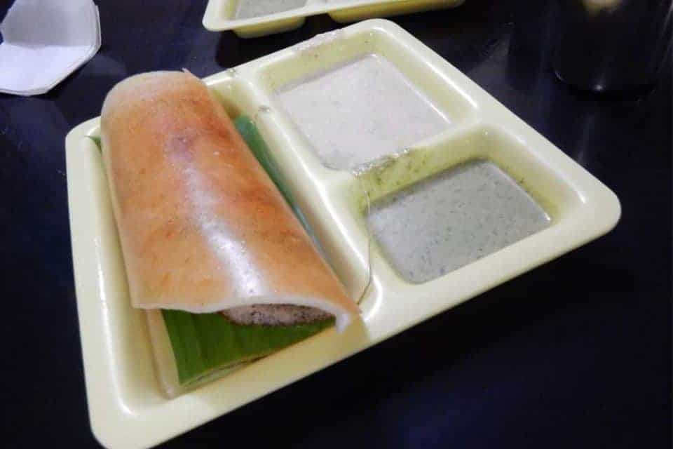 Nine Dishes in Nine Cities as Recommended by Nine Food Writers - Masala Dosa