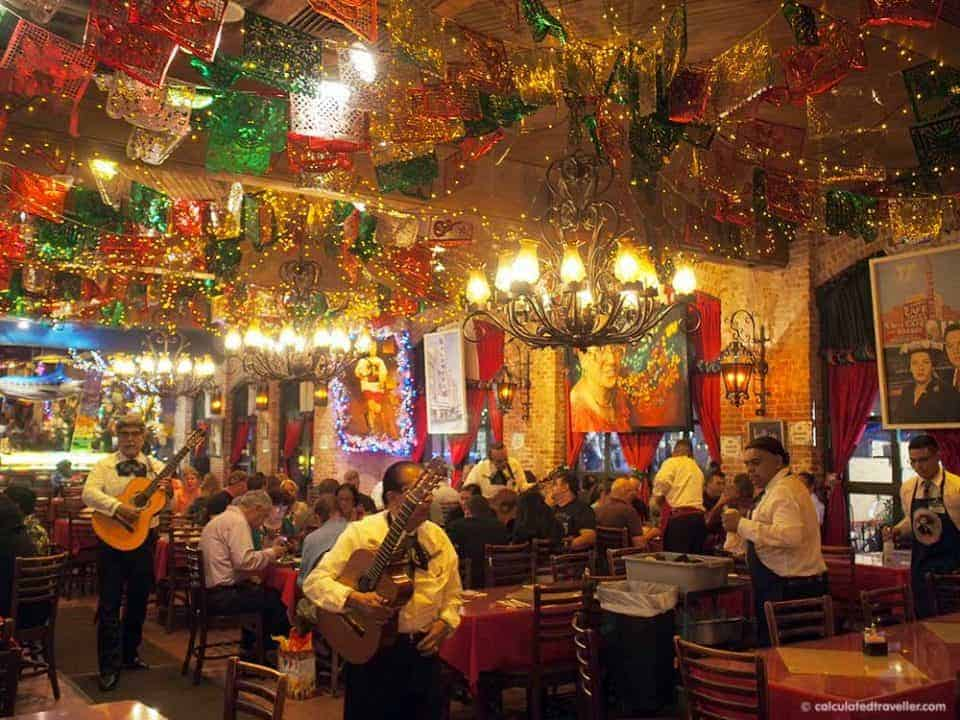 Getting my Guacamole on in San Antonio Texas - Mi Tierra
