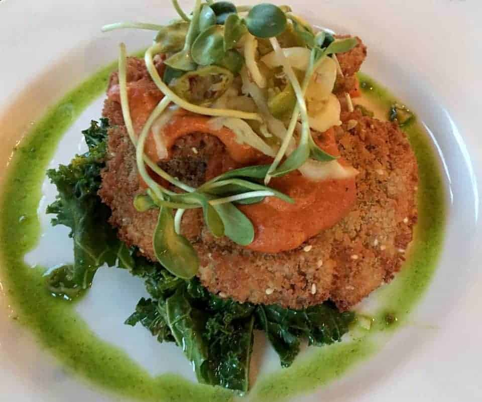 Nine Dishes in Nine Cities as Recommended by Nine Food Writers - Vegan Schnitzel