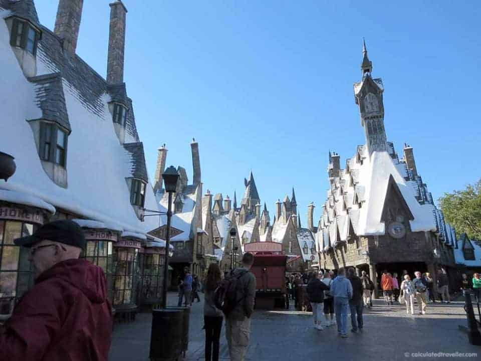 One day / Two parks Universal Studios Harry Potter Adventure - Hogsmede