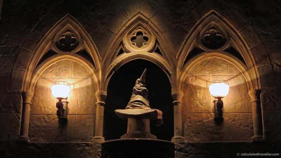 One day / Two parks Universal Studios Harry Potter Adventure - Sorting Hat