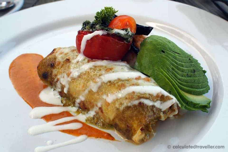 "An All Inclusive Gourmet Experience at Villa Premier Boutique Hotel - ""Aztec"" Gratinated Crepe"