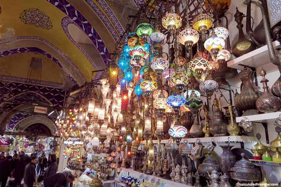 Grand Bazaar Istanbul Turkey in Photos