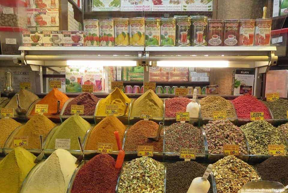 Grand Bazaar Istanbul Turkey in Photos - Spice Market