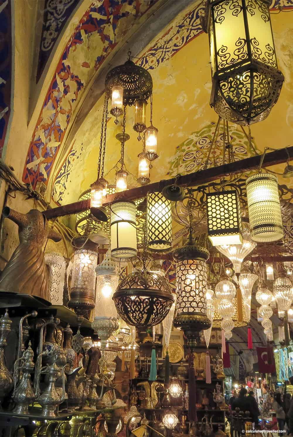 Grand Bazaar Istanbul Turkey in Photos by Calculated Traveller Magazine