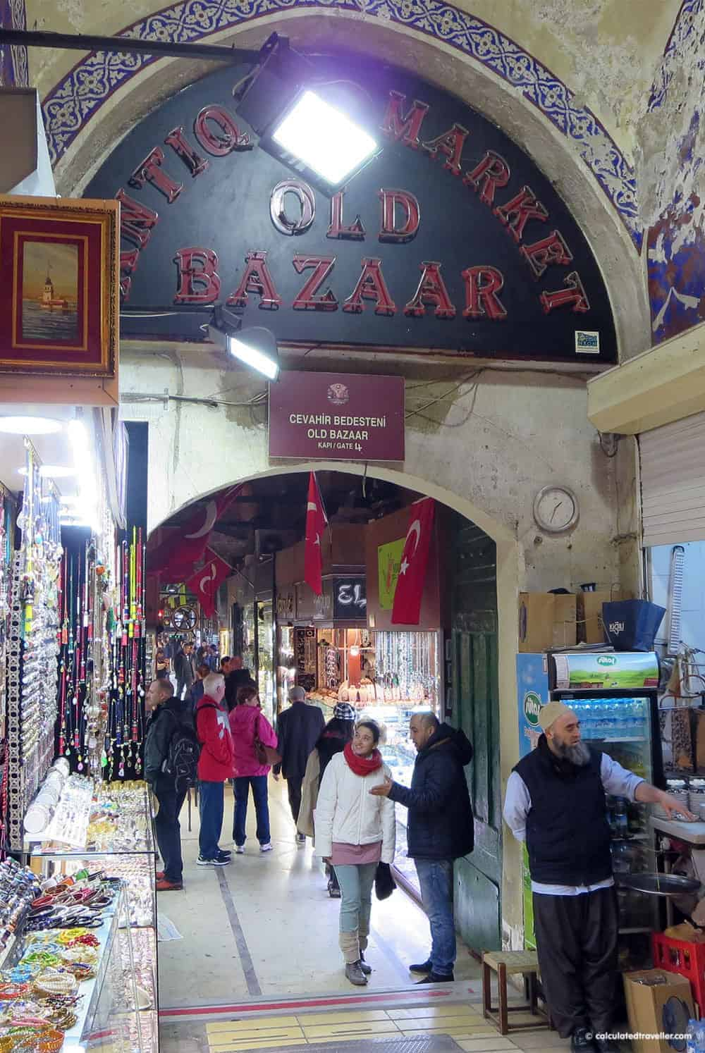 Grand Bazaar Istanbul Turkey in Photos by Calculated Traveller