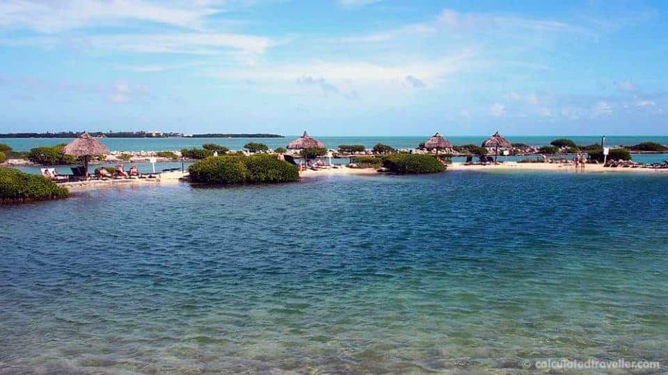 Salt Water Lagoon - Tranquillity at Hawks Cay Resort Duck Key Florida by Calculated Traveller.