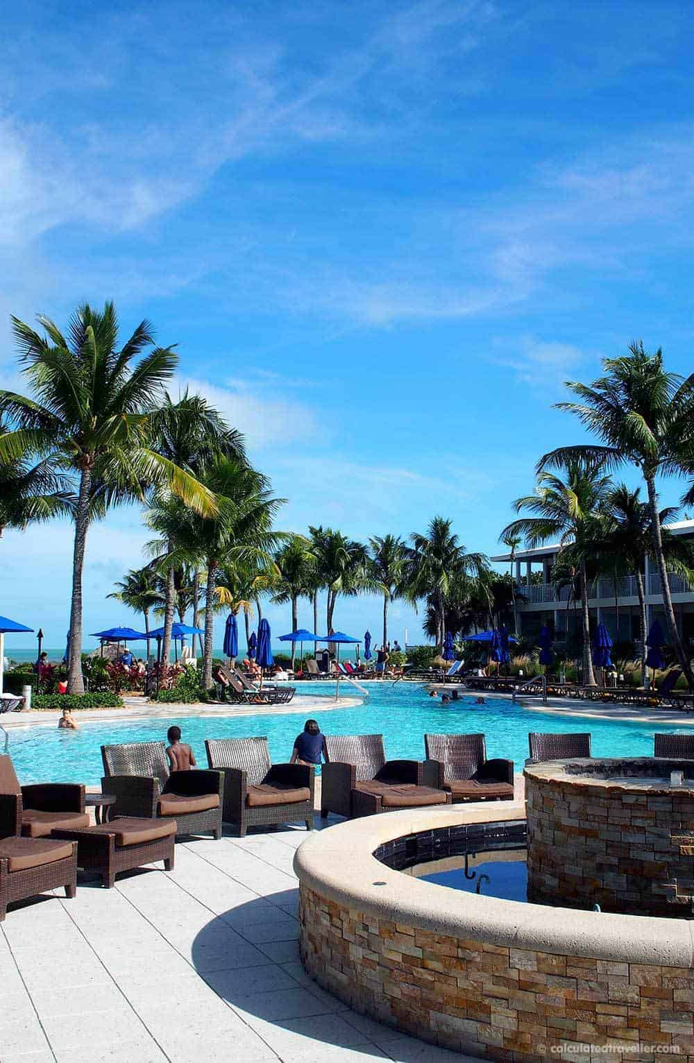 Tranquillity at Hawks Cay Resort Duck Key Florida - Resort Pool. A Review by Calculated Traveller