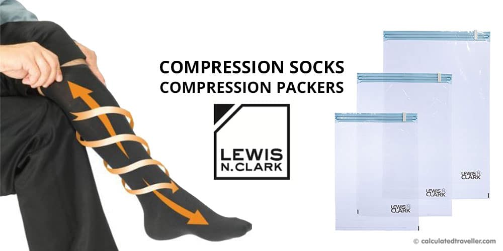 Taking Flight with Lewis N Clark Compression Socks and Compression Packers