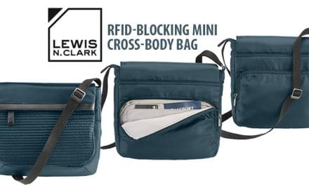 Lewis N. Clark WEA RFID-Blocking Mini Cross-Body Bag