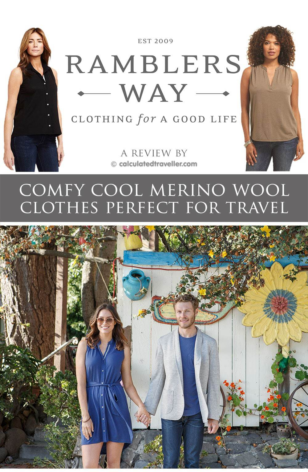 "Ramblers Way - Cosy Cool ""Good-Natured Fashion"". A review by Calculated Traveller"