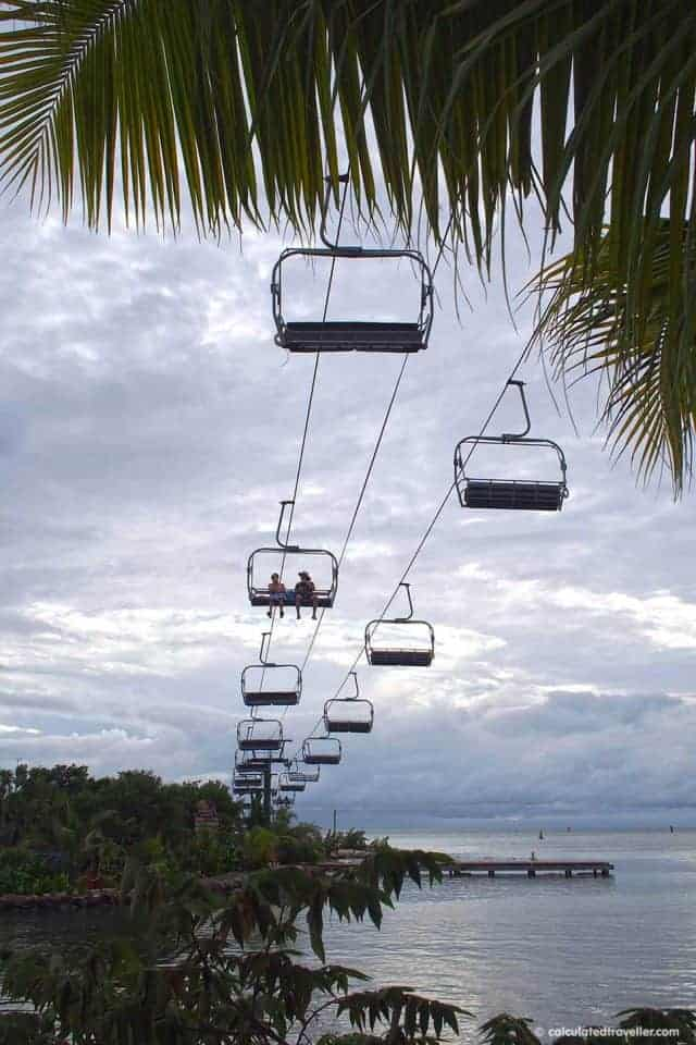 A Cruise Guide to Mahogany Bay Roatan Honduras - Chair Lift