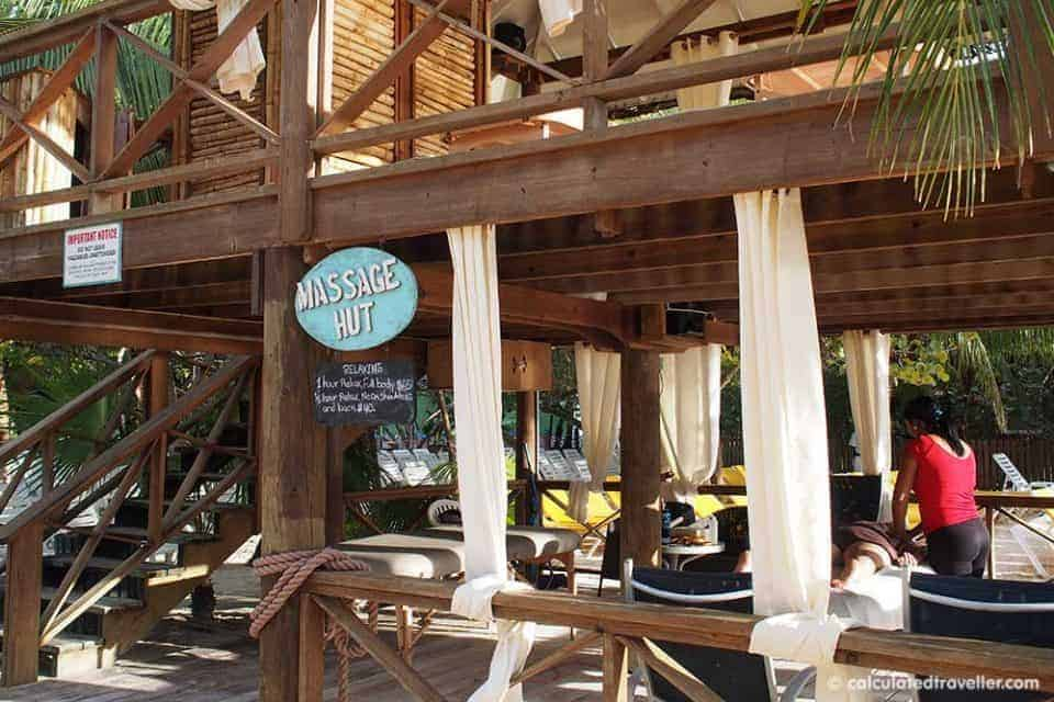 A Cruise Guide to Mahogany Bay Roatan Honduras - Massage Hut