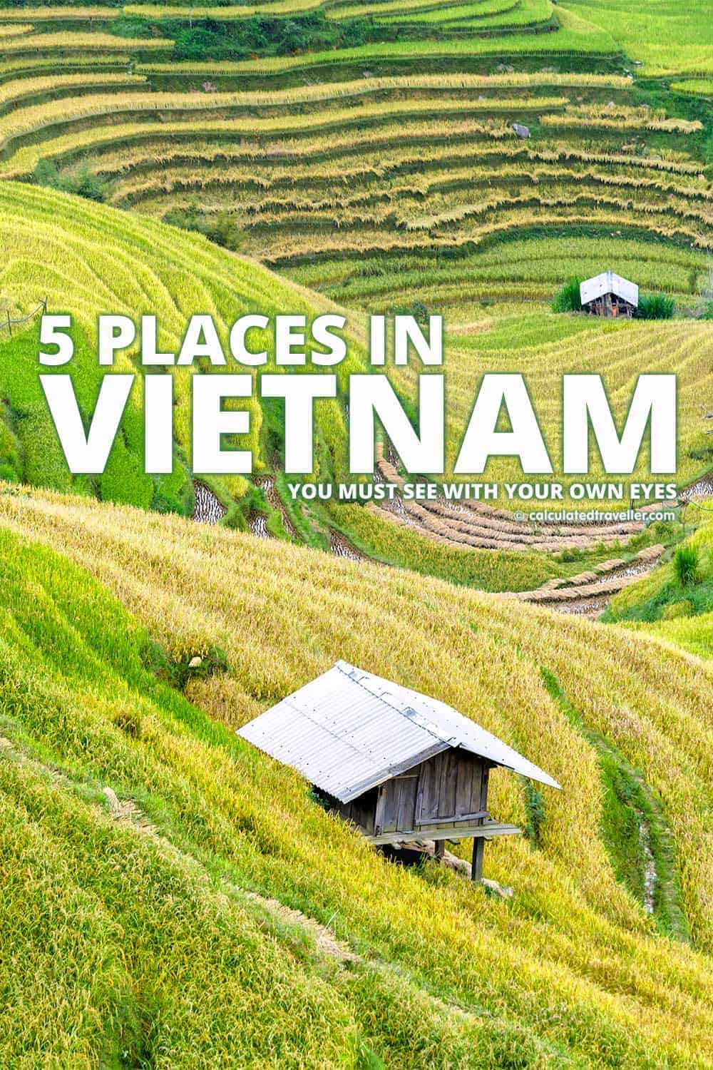 5 Places in Vietnam You Must See With Your Own Eyes | #Travel #Asia #Vietnam
