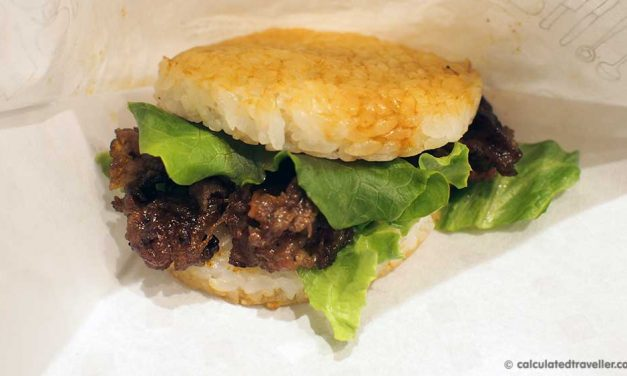 MOS Burger: A Japanese Fast Food Dining Review
