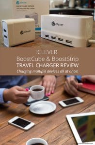 iClever BoostCube and BoostStrip Travel Charger Review by Calculated Traveller. Perfect for when you need to charge multiple devices at the same time when travelling.