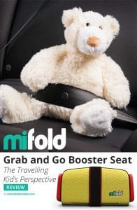 Product Review: Mi-Fold Grab and Go Booster Seat. The Travelling Kid's Perspective by Calculated Traveller