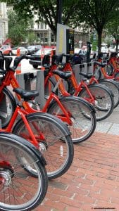 Guide to Renting a Bike on Vacation. Capital Bike Share in Washington DC. Calculated Traveller Magazine