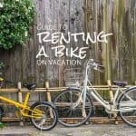 Guide to Renting a Bike on Vacation in Virginia and DC
