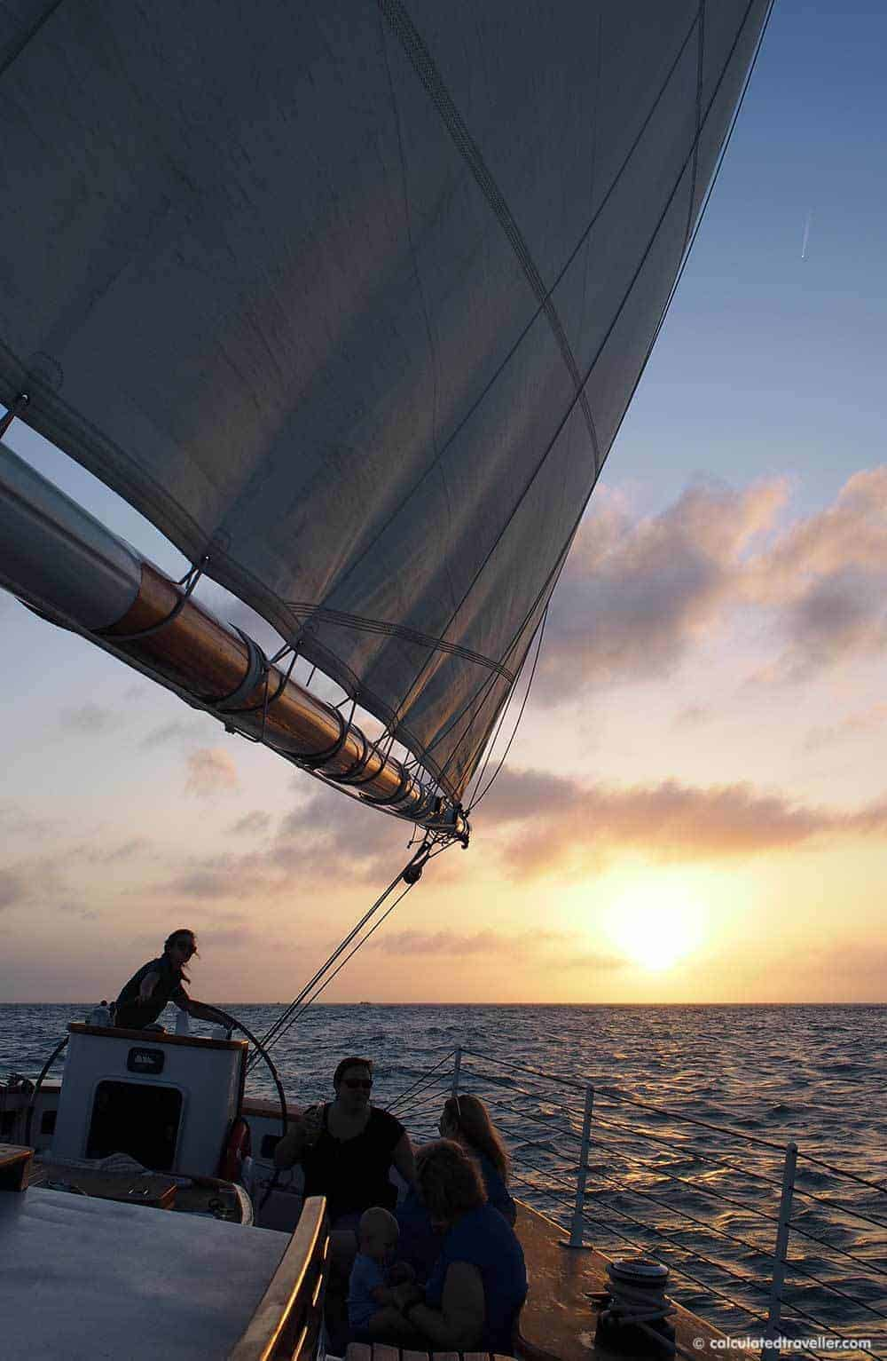 A One Day Key West Florida No Holds Barred Adventure! Sailing onboard the Schooner 2
