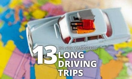 Quick Travel Tip #5: 13 Tips for Comfortable Long Driving Trips