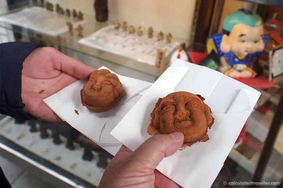 Urban Adventures and Cultural Curiosities in Tokyo Japan - Red Bean Pastries