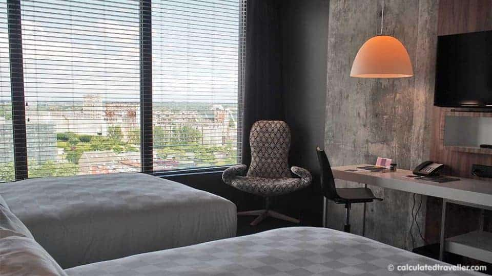 Funky Fresh Affordable Alt Hotel in Griffintown Montreal - Interior room 1810