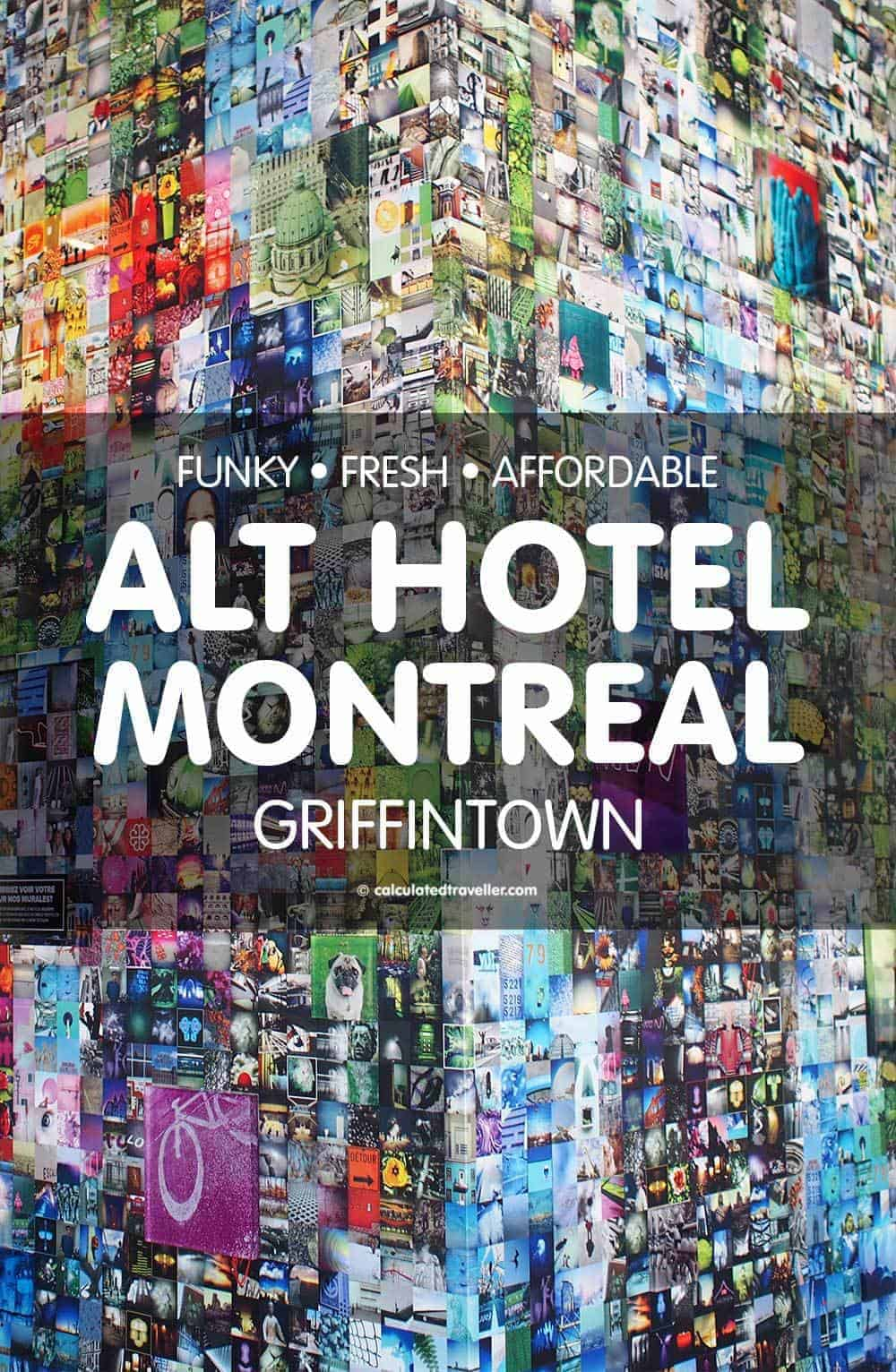 Funky Fresh Affordable Alt Hotel Montreal in Griffintown