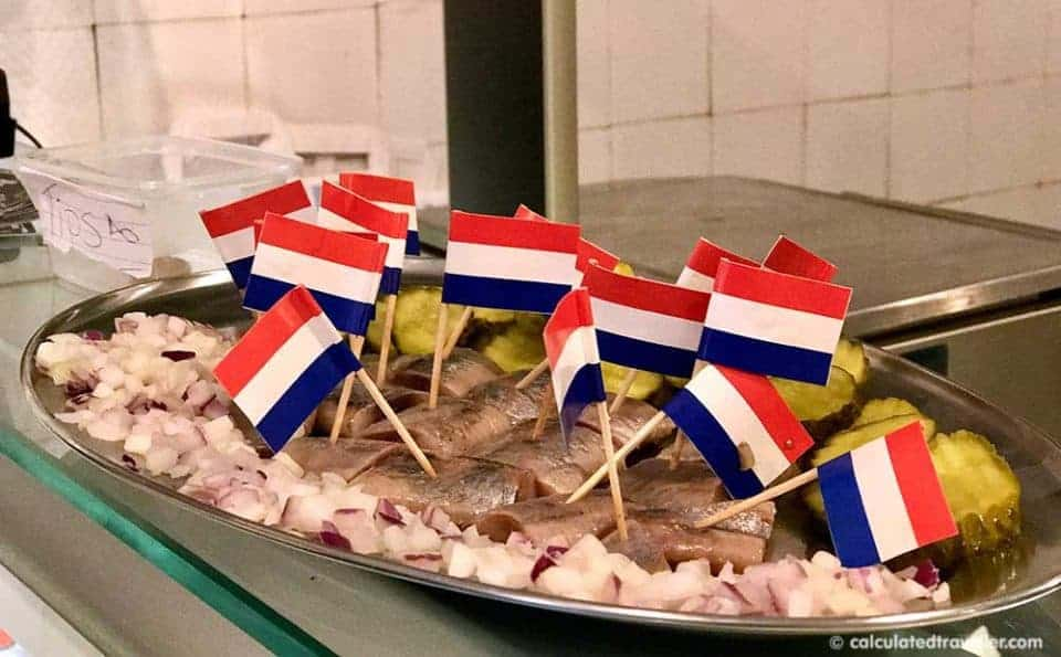 Food For Thought: Eating Amsterdam Tours - Haring, Kibbeling