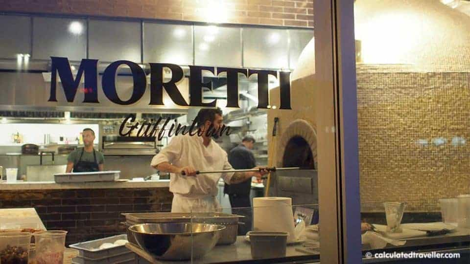 Funky Fresh Affordable Alt Hotel Montreal in Griffintown - Pizzeria Moretti