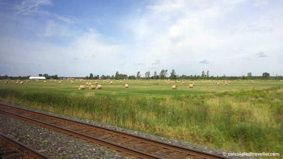 A VIA Rail Business Class Adventure from Toronto to Montreal - landscape