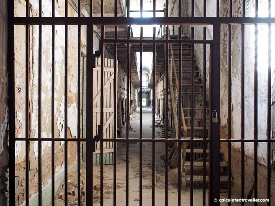 Eastern State Penitentiary in Philadelphia Pennsylvania - if you dare...