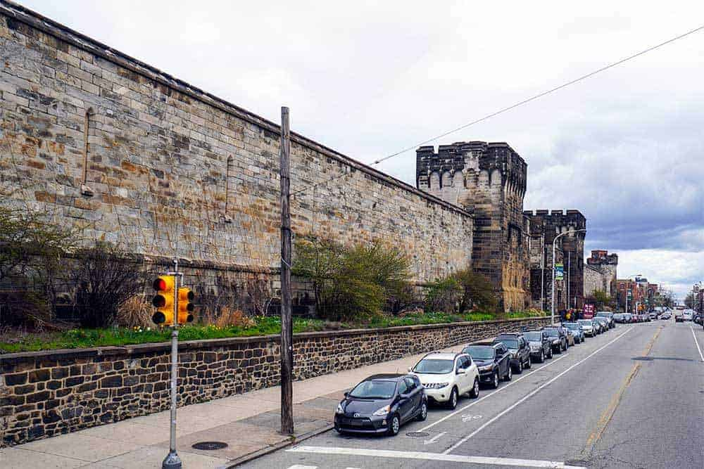Eastern State Penitentiary in Philadelphia Pennsylvania - exterior view